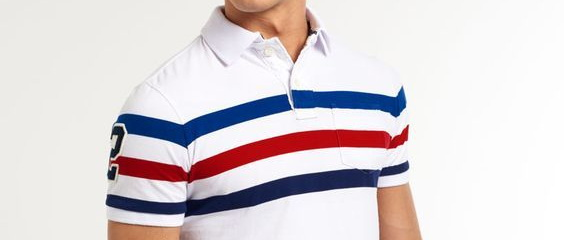 Stripe Polo Shirts Cover
