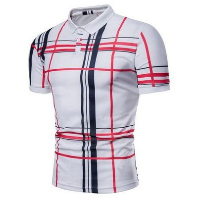 Stripe Polo Shirts 1