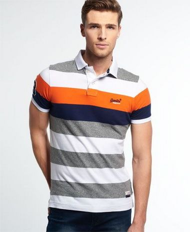 Stripe Polo Shirts 3