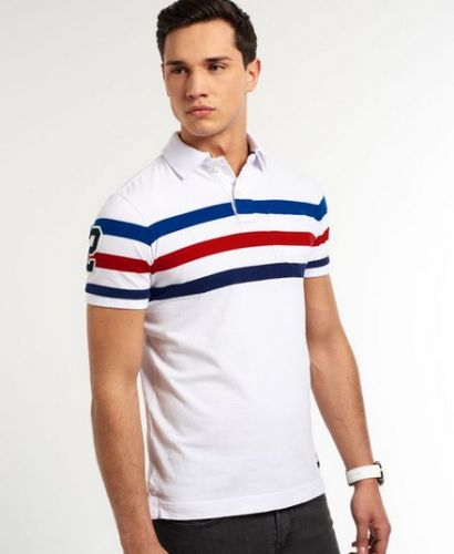 Stripe Polo Shirts 5