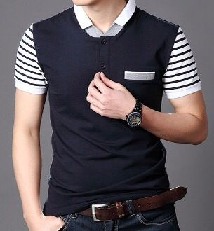 Stripe Polo Shirts 6