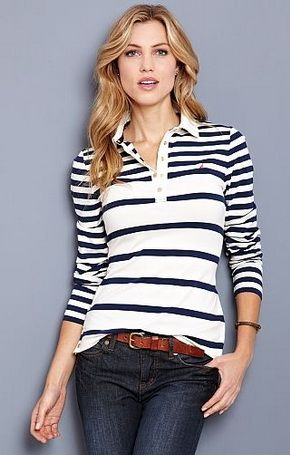 Stripe Polo Shirts 8