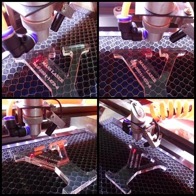 acrylic laser