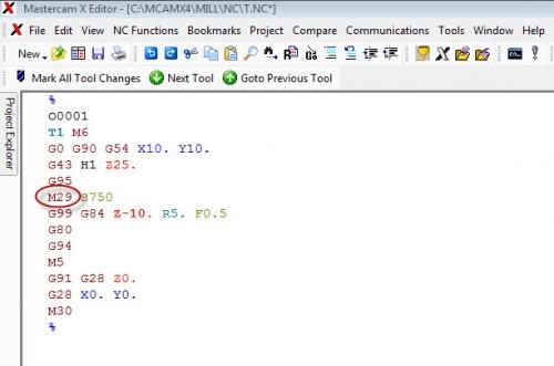 สอบถาม Cycle Parameter ในงานเจ
