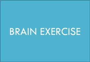 Brain exercise
