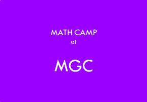 ค่ายกิจกรรม คณิตศาสตร์ ที่ศูนย์การเรียนรู้ Math game center