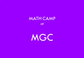 Math Camp at MGC