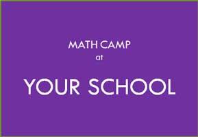 รับจัดค่ายกิจกรรมการเรียนรู้ คณิตศาสตร์ ณ โรงเรียน Math camp