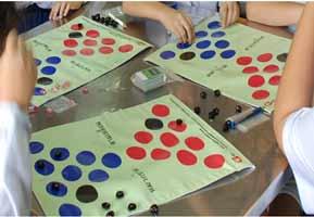 เกมหมาข้ามสามเหลี่ยม กิจกรรมของนักเรียน กิจกรรมแบบกลุ่ม การแข่งขัน