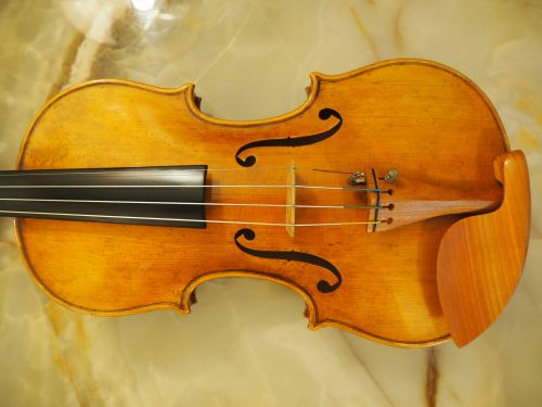 a violin inspired from Le Duc Guarneri violin