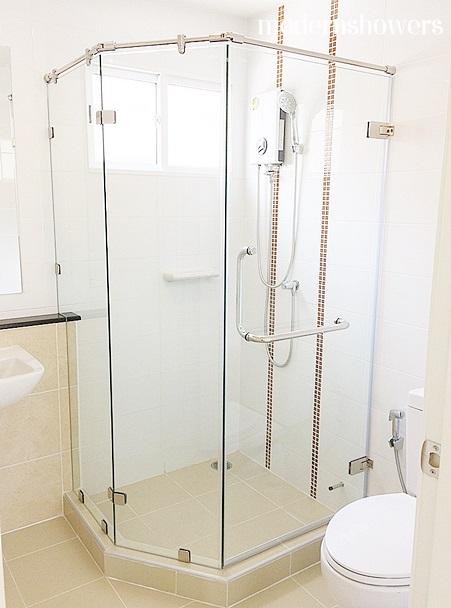 กระจกกั้นห้องน้ำ กระจกนิรภัย ภัสสรไพรด์