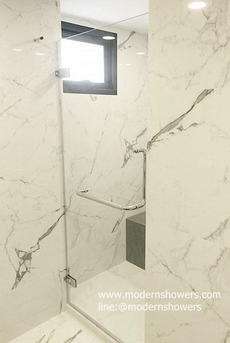 ฉากกั้นอาบน้ำ กระจกนิรภัย บริษัทเดอะฟันธงดอทคอม