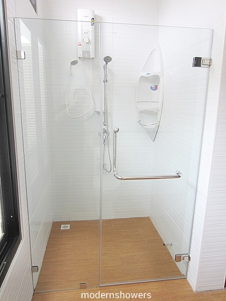 ฉากกระจกกั้นห้องน้ำ modernshowers