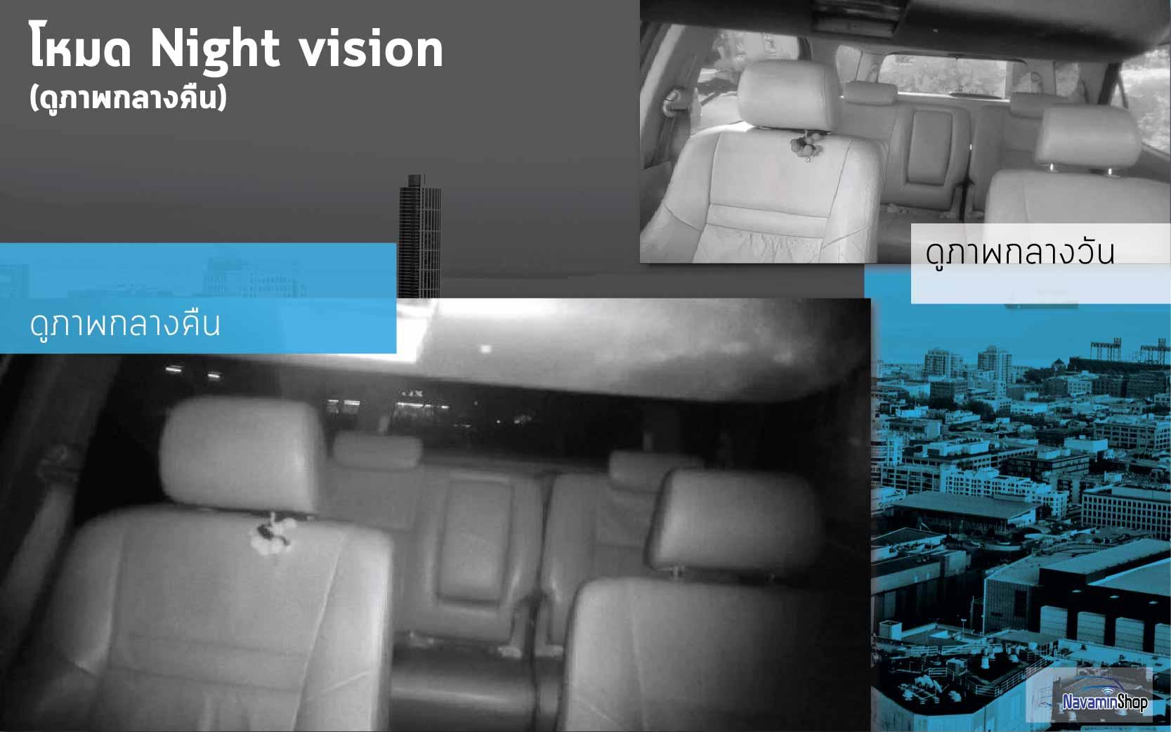 ภ่ายถ่ายจากกล้องติดรยนต์3G TRACKER CCTV คุณภาพระดับFull HD มีโหมดNight Vision เพี่อดูภาพหรือวีดีโอในสภาวะแสงน้อง ทำให้มองเห็นชัดเปเจน