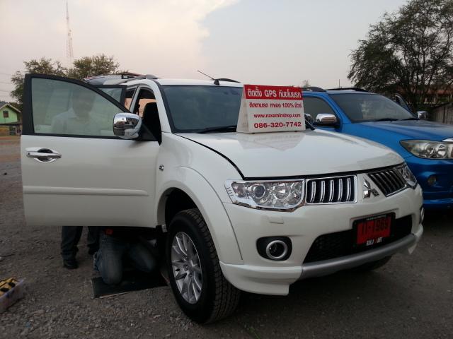 Gps tracking ติดตามรถ PAJERO เพิ่มความปลอดภัย ป้องกันรถหาย