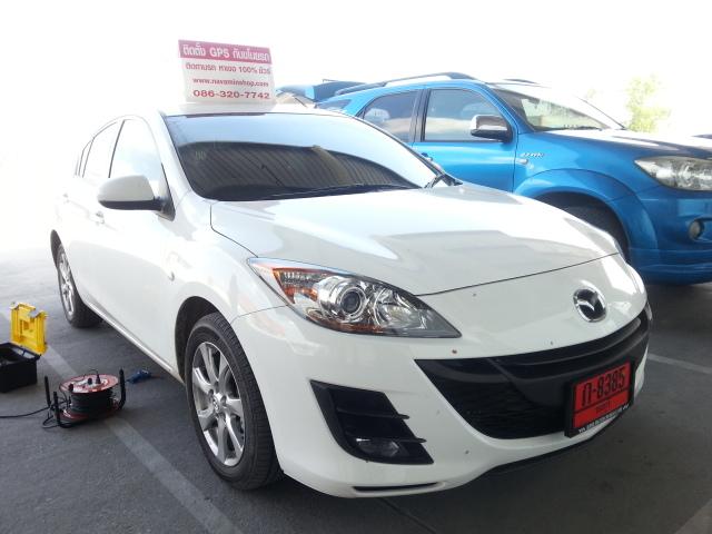 Mazda ติดตั้งGps Tracking  ป้องกันขโมย สั่ดับเครื่องยนต์ทางมือถือ กำหนดสิทธิสูงสุด5เบอร์