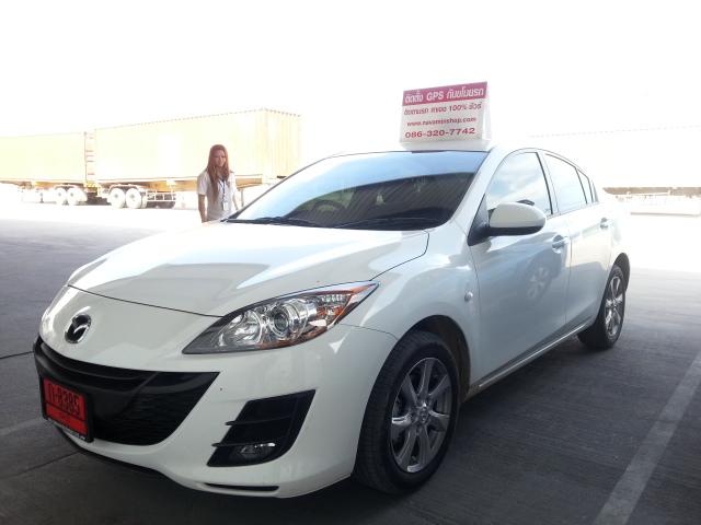 Mazda ติดตั้งGps Tracking  ป้องกันขโมย สั่ดับเครื่องยนต์ทางมือถือ กำหนดสิทธิสูงสุด5เบอร์  กำนหนดความเรี็ว