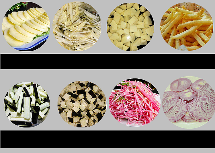 เครื่องหั่นผักไฟฟ้า เครื่องซอยผัก เครื่องหั่นสมุนไพร เครื่องหั่นผักผลไม้เป็นทรงลูกเต๋า เครื่องหั่นผักผลไม้ เครื่องสับผัก