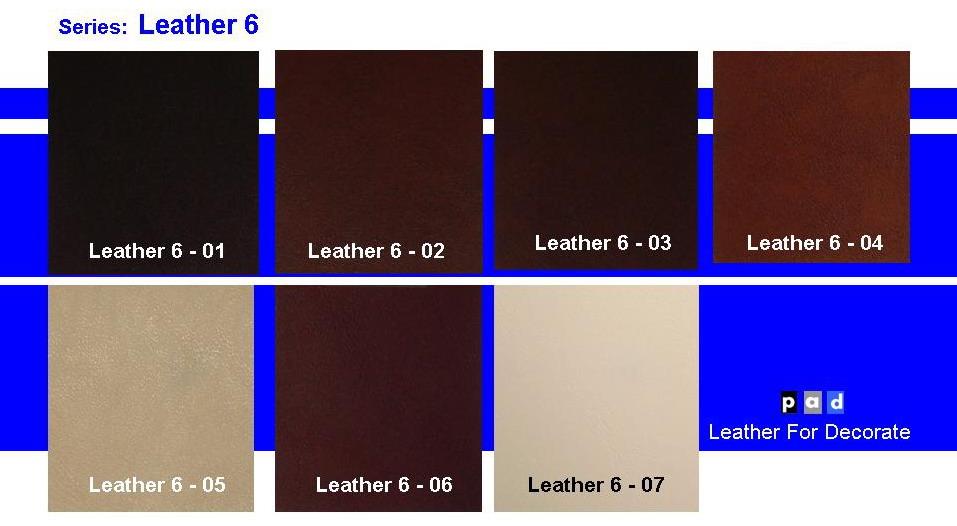 หนังเทียม Leather6
