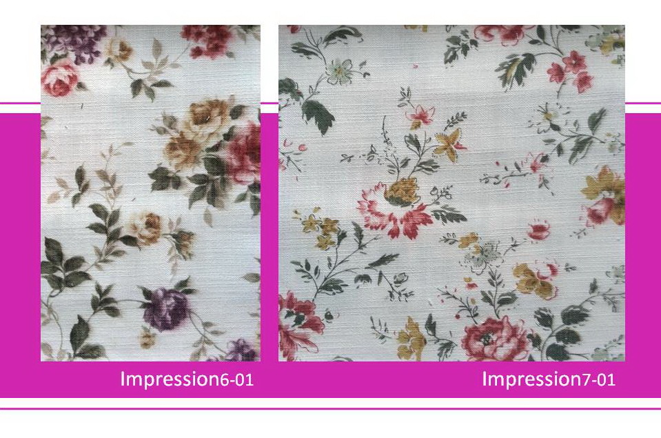 ผ้าบุเฟอร์นิเจอร์ Impression Fabric