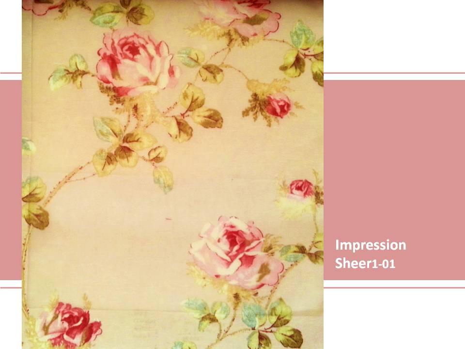 ผ้าม่านโปร่ง Curtain Impression
