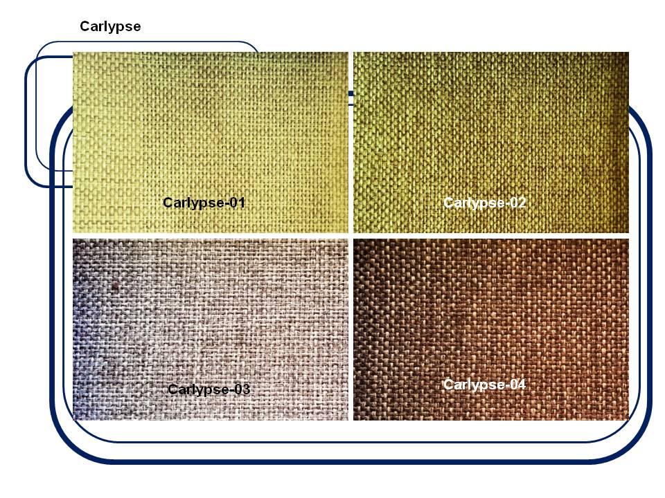 ผ้าบุเฟอร์นิเจอร์  Code: Carlypse