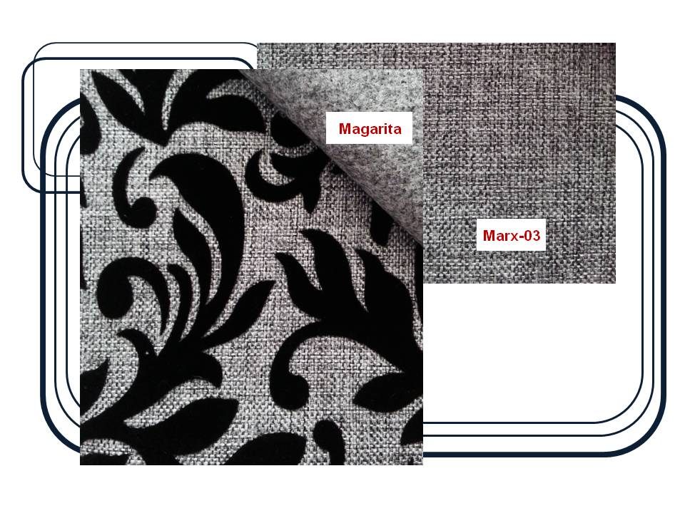 ผ้าบุเฟอร์นิเจอร์  Code : Magarita