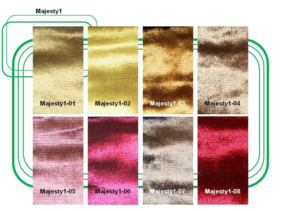ผ้ากำมะหยี่บุเฟอร์นิเจอร์  Majesty1
