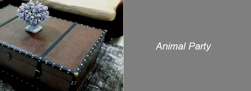 Animal Leather Upholstery