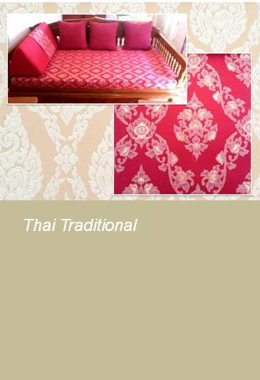 Thai Traditional Fabric Upholstery