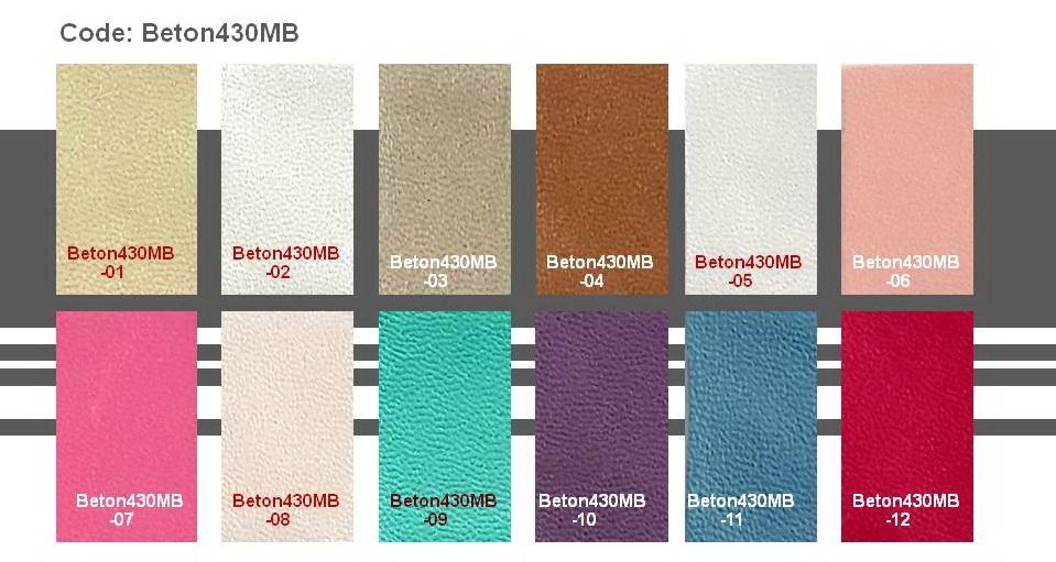 Microfiber Leather Beton430MB