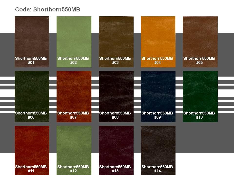 Microfiber Leather Shorthorn550MB