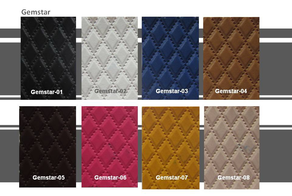 Quadrangle Leather Gemstar