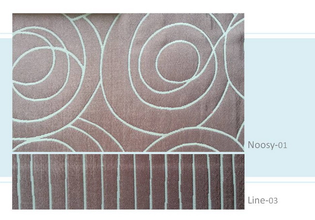 ผ้าม่าน Noosy01 Line03