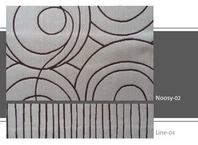 ผ้าม่าน Noosy02 Line04