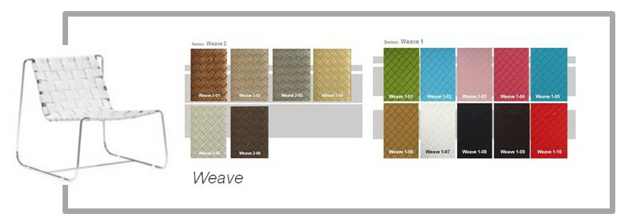 Weave PVC Leather