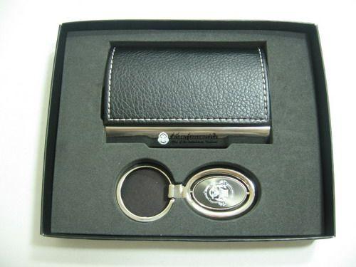 ชุดกิ๊ฟเซตตลับนามบัตรพร้อมพวงกุญแจ ของพรีเมียม ของชำร่วย ของที่ระลึก ของขวัญ