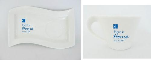 แก้วกาแฟพร้อมจานรองของชำร่วย  แก้วกาแฟพร้อมจานรองพรีเมี่ยม  แก้วกาแฟพร้อมจานรองของที่ระลึก  แก้วกาแฟพร้อมจานรองของพรีเมี่ยม