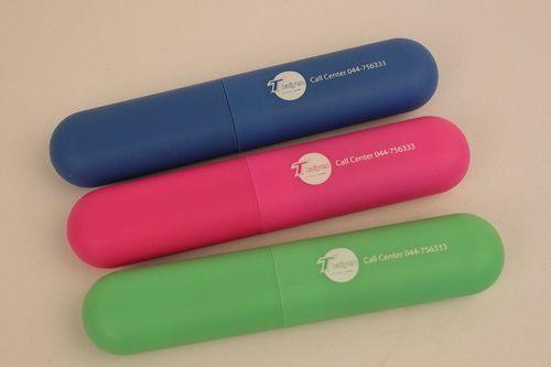 ชุดปากกา ดินสอ บรรจุในกล่องพลาสติก  สภาเครือข่ายเยาวชนสิ่งแวดล้อม ระดับประเทศ