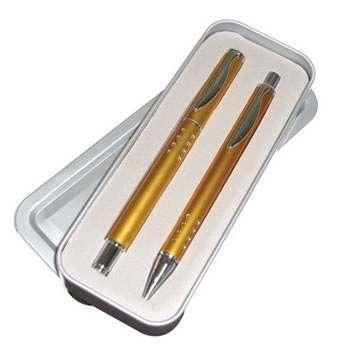 ชุดปากกาโลหะพร้อมกล่องโลหะ NO. H 023 B/R   ปากกาโลหะ ปากกาโลหะของชำร่วย ปากกาโลหะของพรีเมี่ยม ปากกาโลหะของขวัญ