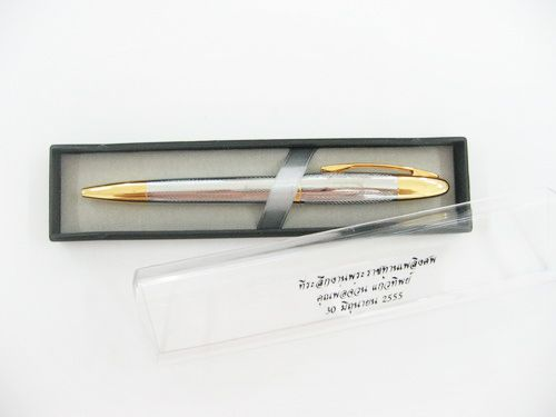 ปากกาโลหะของพรีเมียม ของชำร่วย ของที่ระลึก ของขวัญ