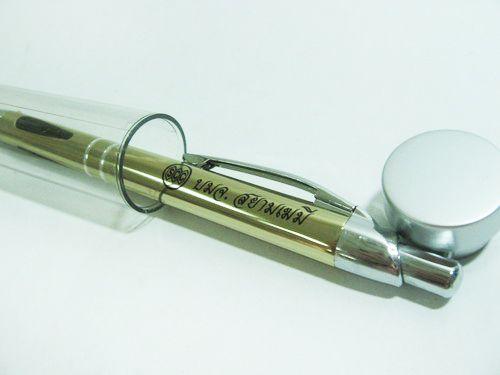 ปากกาโลหะของชำร่วย ของพรีเมียม ของที่ระลึก ของขวัญ