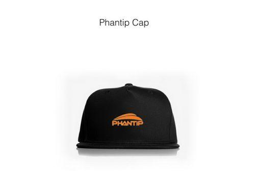 หมวก,ของพรีเมี่ยม,ของที่ระลึก,ของขวัญปีใหม่,ของที่ระลึกเกษียณอายุราชการ,ของที่ระลึกงานศพ ของขวัญแจกพนักงานหมวกแก๊ป ผ้าพีช สีดำ Phantip Cap