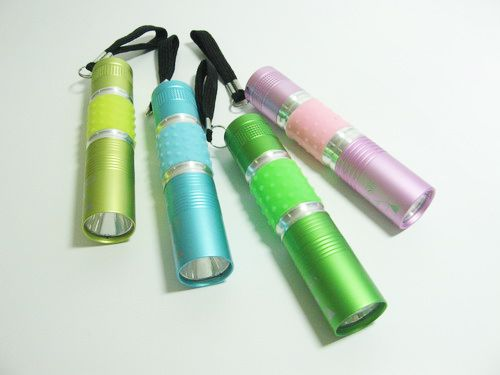 ไฟฉายหลอด LED Colourful power led Torch Light
