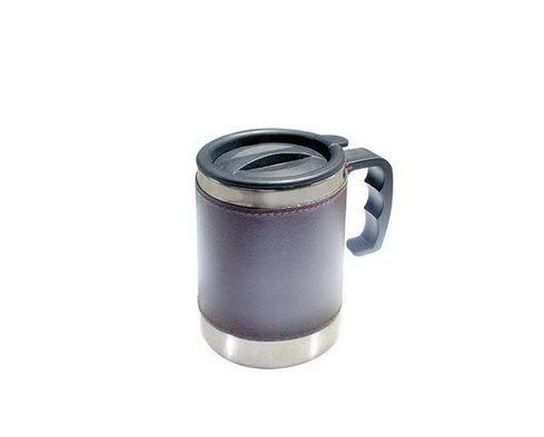 แก้วน้ำเก็บความร้อนเย็น หุ้มหนังPU,,แก้วน้ำเก็บความร้อน,เย็นเป็นของขวัญ