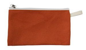 กระเป๋าดินสอผ้าแคนวาส    กระเป๋าดินสอสีหวาน สกรีนลายน่ารัก