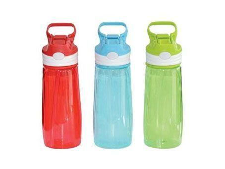 กระบอกน้ำพลาสติก ,กระบอกน้ำพลาสติกขนาด 600 ml  ,กระบอกน้ำพลาสติก ,(24.5x7 cm)