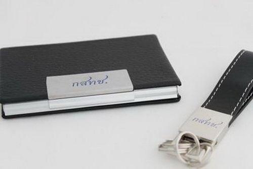 ตลับนามบัตร กล่องใส่นามบัตร  ที่ใส่นามบัตร อะลูมิเนียม
