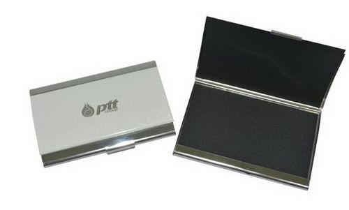 กล่องนามบัตรอลูมิเนียม  ตลับนามบัตร ซองนามบัตร  ที่ใส่นามบัตร
