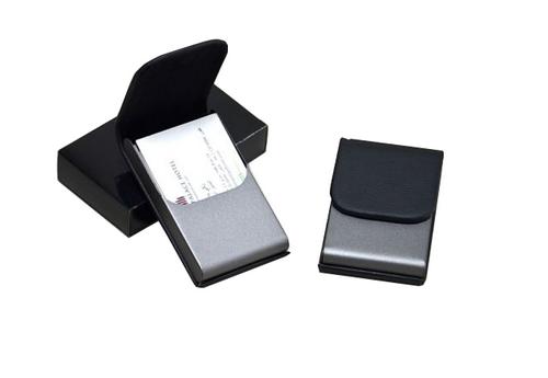 กล่องนามบัตรเหล็ก ตลับนามบัตรหนัง กล่องนามบัตรอลูมิเนียม